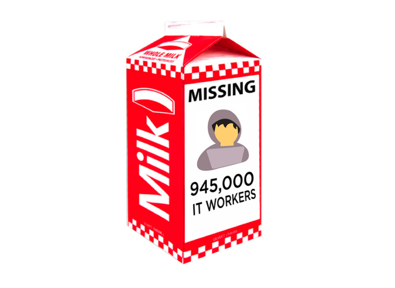Missing: One Million US Tech Workers on LinkedIn